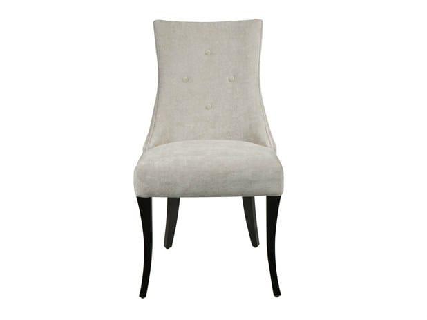 Upholstered fabric chair VICTORIA - Hamilton Conte Paris