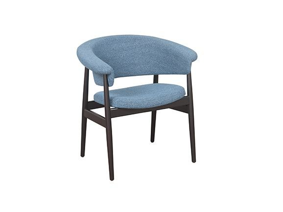 Upholstered chair with armrests VANIA by Hamilton Conte Paris