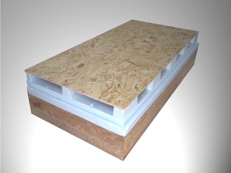 Pannello isolante per tetti ventilati airholz st by - Materiale isolante per tetti ...