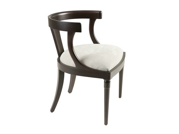 Upholstered fabric chair JOSEPHINE by Hamilton Conte Paris