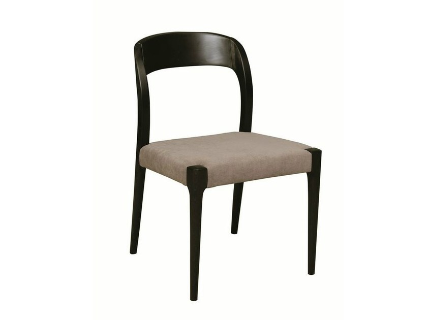Upholstered fabric chair GUNILLA by Hamilton Conte Paris