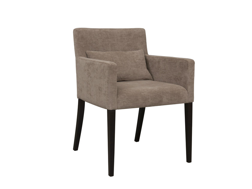 Upholstered chair with armrests FLOR - Hamilton Conte Paris