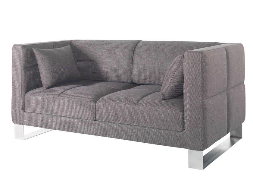 2 seater fabric sofa ROMYS | Fabric sofa by AZEA