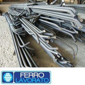 Steel bar, rod, stirrup for reinforced concrete Ferro Lavorato Sicilferro by Sicilferro