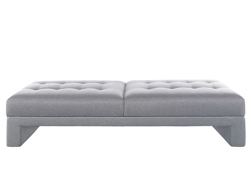 Upholstered fabric bench PRINCE | Bench - AZEA
