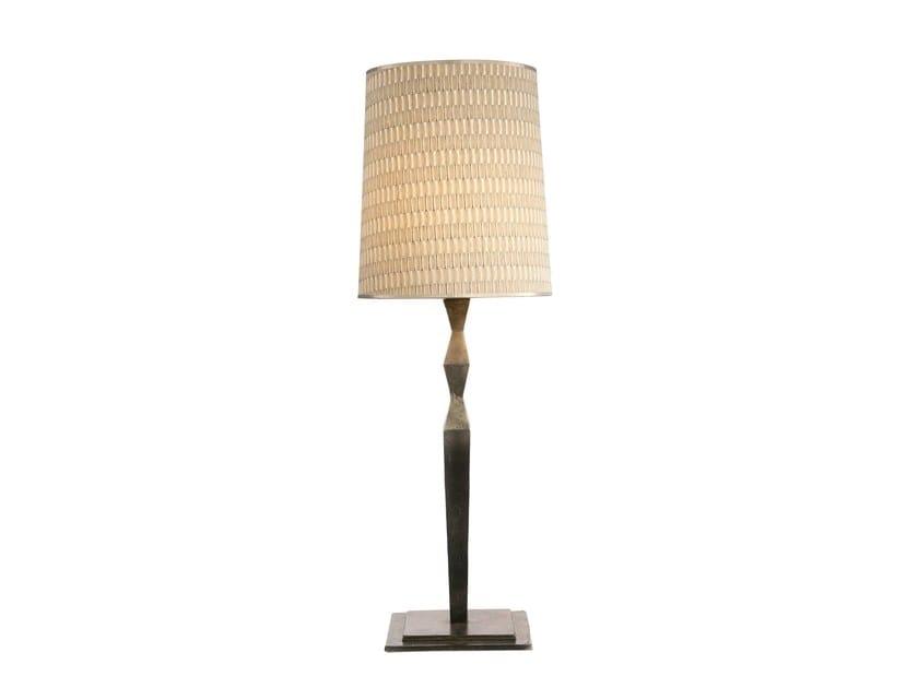 Aluminium table lamp AMEDEO SMALL LAMP - Hamilton Conte Paris