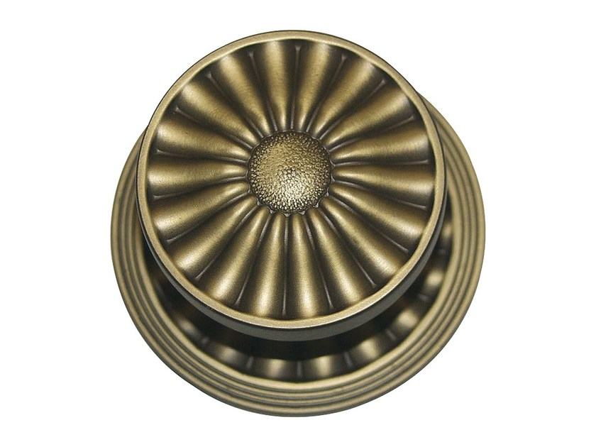 Chromed brass door knob DAISY | Door knob - LINEA CALI'