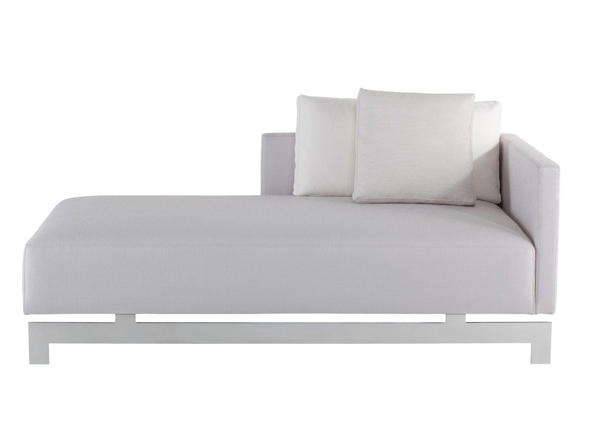 Upholstered fabric day bed YKON - AZEA