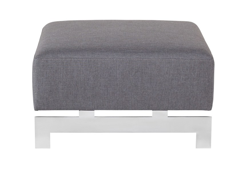 Fabric footstool YROOL | Footstool - AZEA