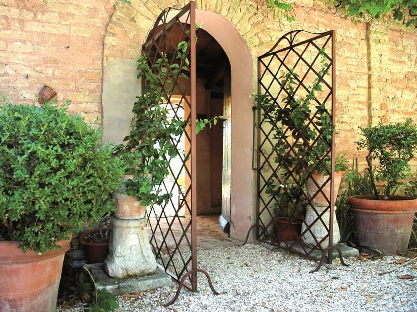 Schermo divisorio da giardino grigliato by unosider - Biombos para jardin ...