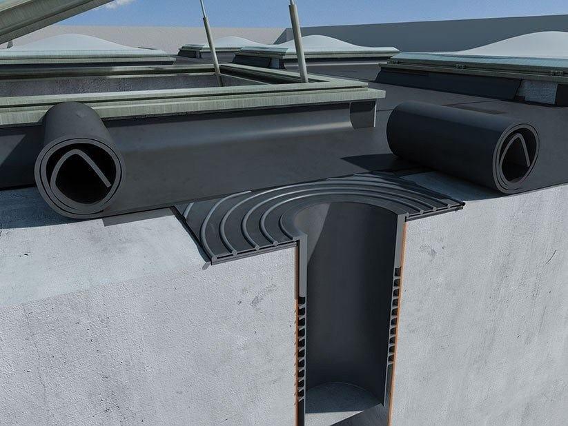 Polymer-bitumen membrane accessories