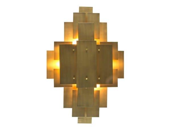 Brass wall light UXMAL - Hamilton Conte Paris