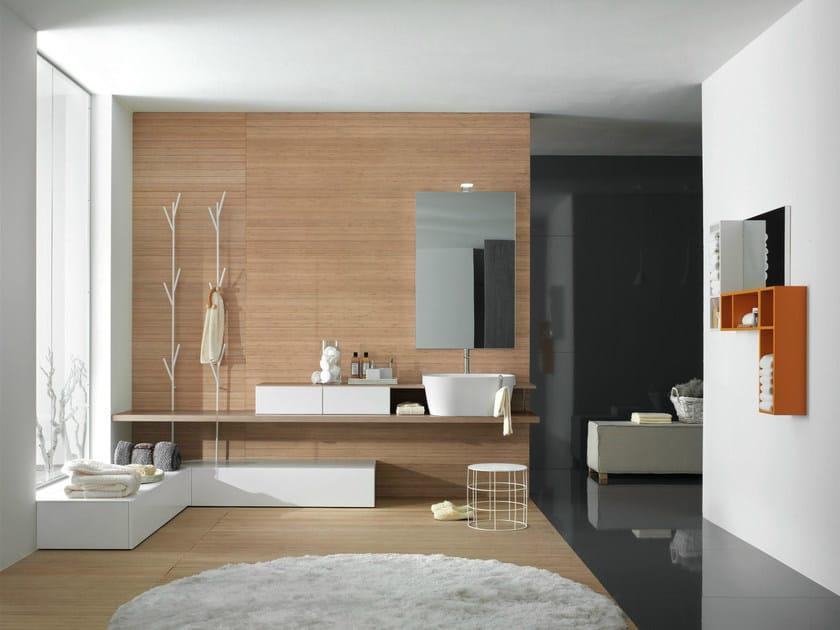 Bathroom furniture set CANESTRO - COMPOSITION C01 by NOVELLO