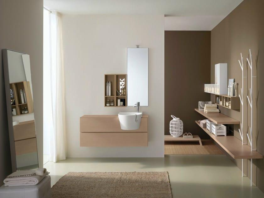 Arredo bagno completo canestro composizione c12 novello - Novello mobili bagno ...