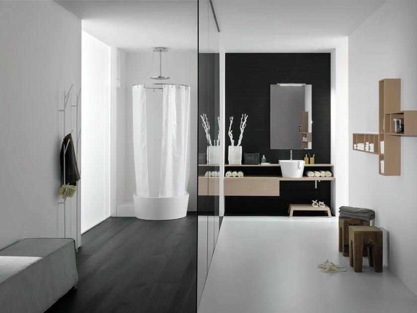 Bathroom furniture set CANESTRO - COMPOSITION C05 - NOVELLO