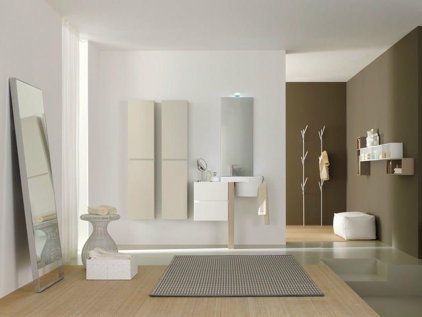 Bathroom furniture set CANESTRO - COMPOSITION C08 - NOVELLO