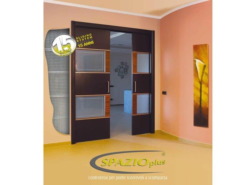 Counter frame for double sliding doors DOPPIO - SLIDING SYSTEM