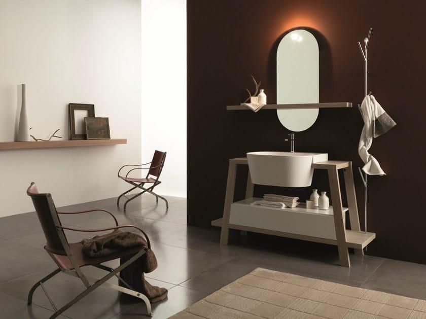 Bathroom furniture set CANESTRO - COMPOSITION C26 - NOVELLO