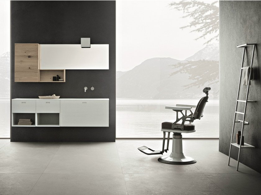 Bathroom furniture set CRAFT - COMPOSITION N04 - NOVELLO