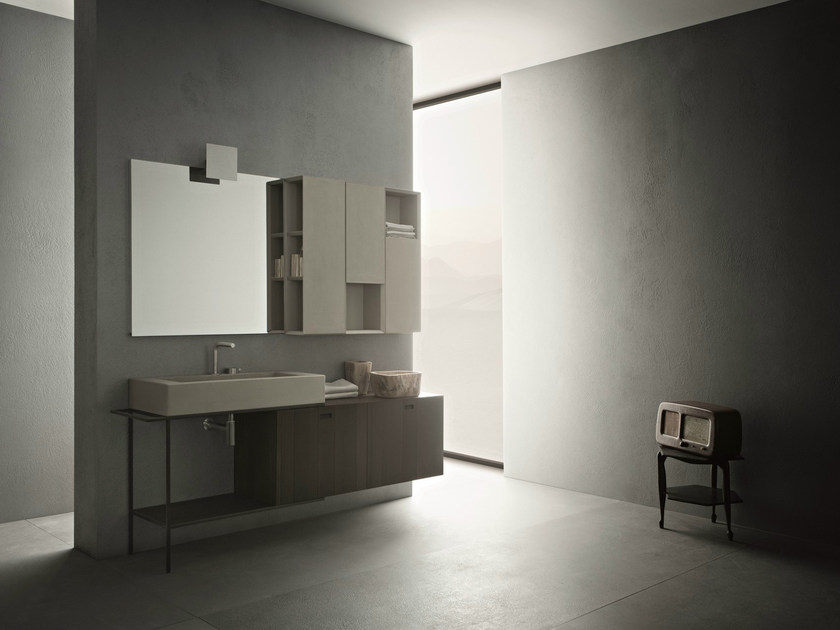 Bathroom furniture set CRAFT - COMPOSITION N05 by NOVELLO