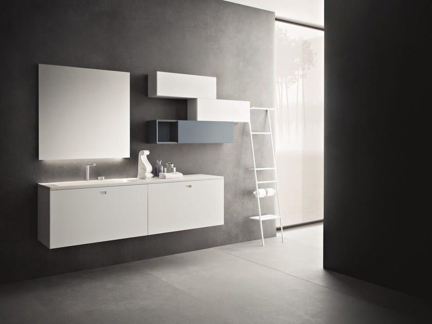 Bathroom furniture set CRAFT - COMPOSITION N08 by NOVELLO