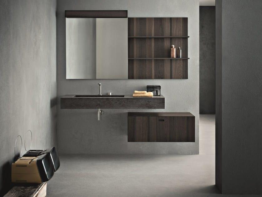 Bathroom furniture set CRAFT - COMPOSITION N09 - NOVELLO