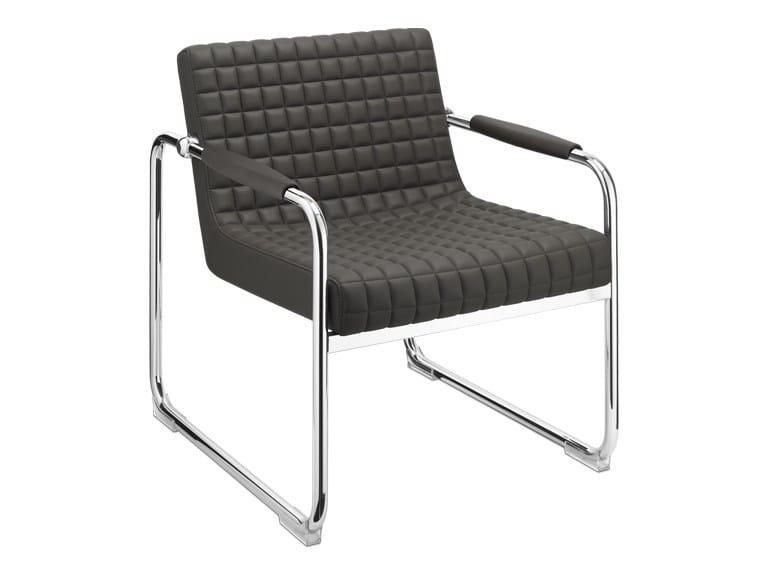 Sled base easy chair L'O SNOB   Easy chair - SitLand