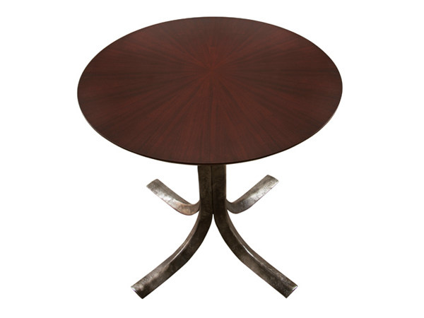 Round wood veneer table TALOS | Wood veneer table - Hamilton Conte Paris