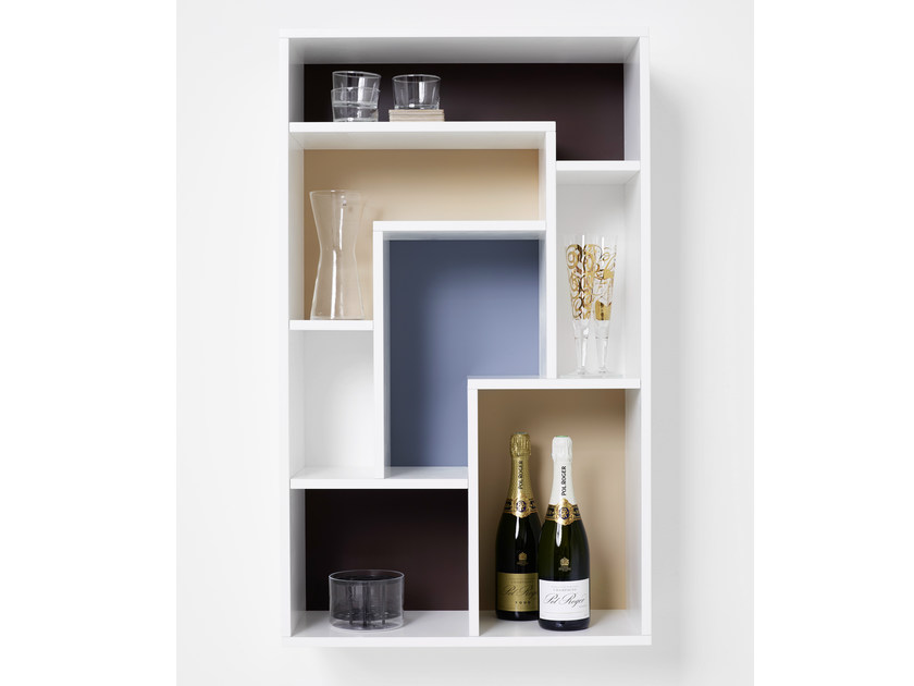 Wall cabinet with door with shelves GUESS | Wall cabinet - Karl Andersson & Söner