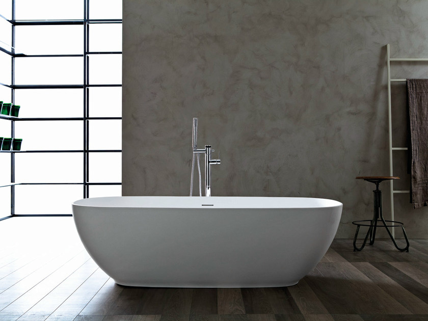 Vasca da bagno ovale libera 3d vasca da bagno novello - Prodotti per pulire vasca da bagno ...