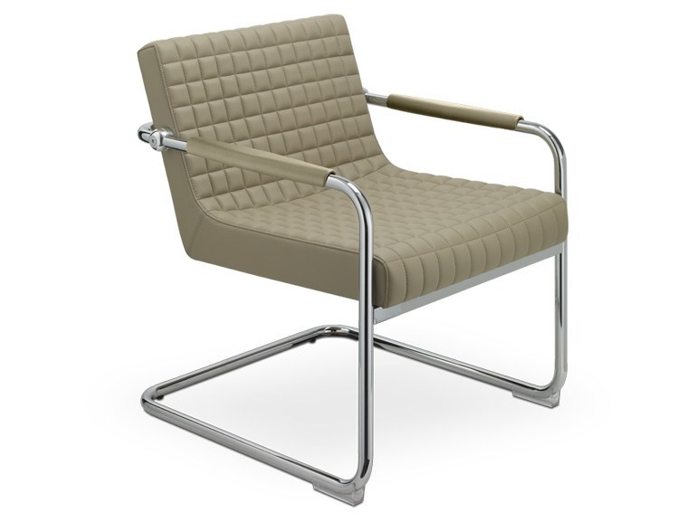 Cantilever upholstered easy chair RETRÒ LOUNGE | Easy chair - SitLand