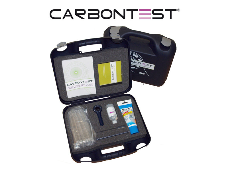 Measurement, control, thermographic and infrared instruments CARBONTEST® - TECNOINDAGINI