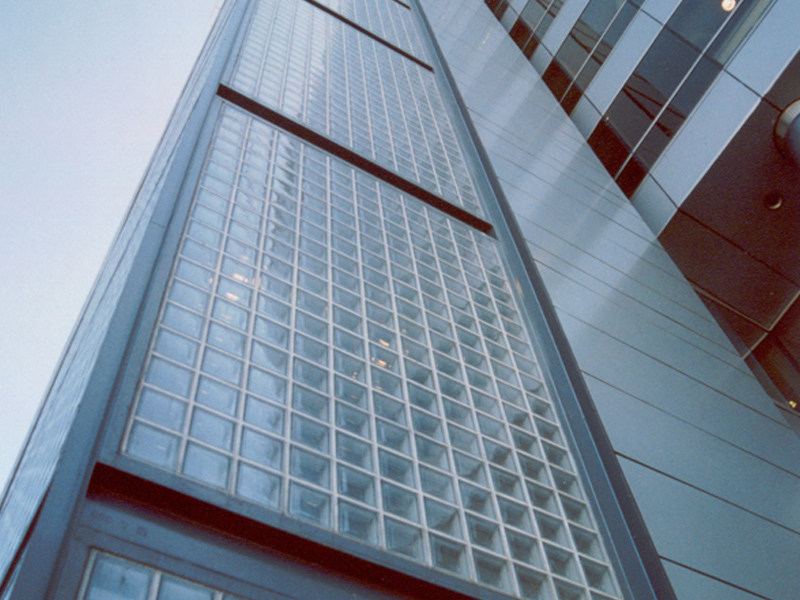 Mattone in vetro a bassa trasmittanza termica energy saving ...