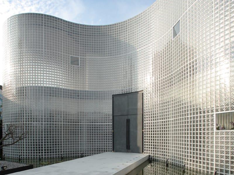 Mattone in vetro a bassa trasmittanza termica ENERGY ...