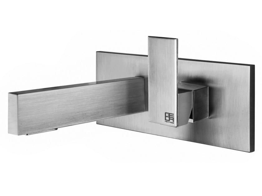 Wall-mounted single handle washbasin mixer HITO CINQUANTUNO | Wall-mounted washbasin mixer - GEDA