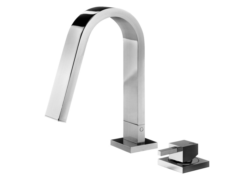 2 hole countertop washbasin mixer HITO QUARANTUNO | 2 hole washbasin mixer - GEDA