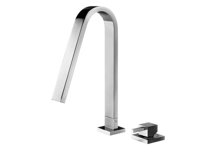 2 hole countertop washbasin mixer HITO QUARANTUNO | 2 hole washbasin mixer by GEDA