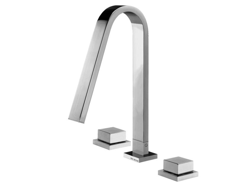 3 hole countertop washbasin tap HITO QUARANTUNO | 3 hole washbasin tap by GEDA