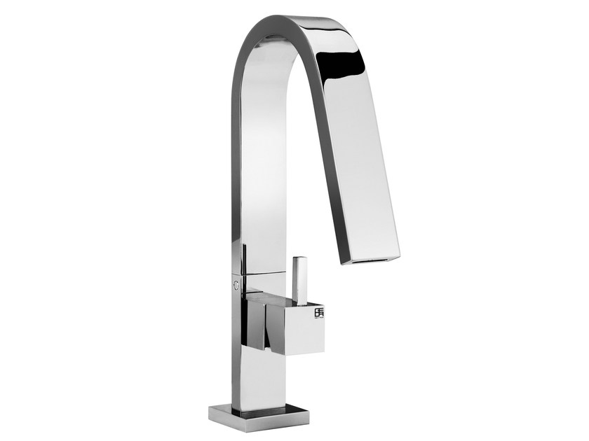 Single handle 1 hole washbasin mixer HITO QUARANTUNO | Single handle washbasin mixer by GEDA