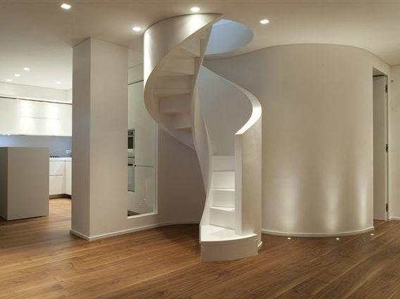 Spiral staircase Mod. 700 Elicoidale - Interbau Suedtirol Treppen