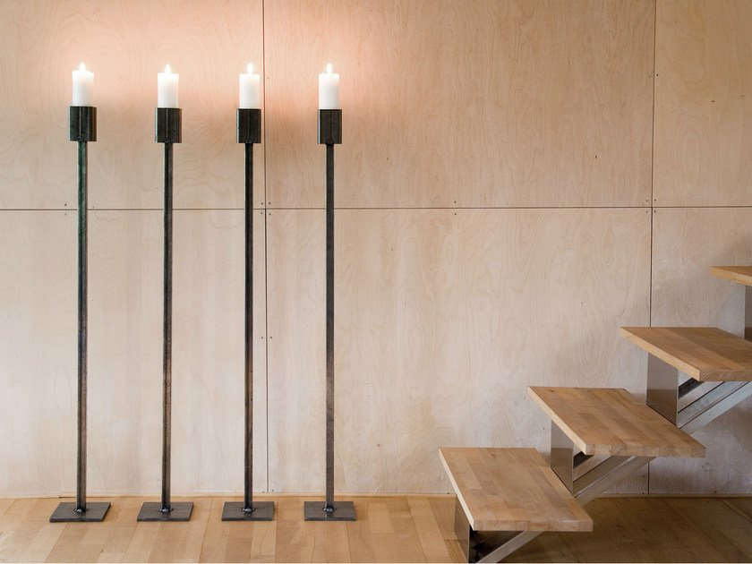Iron candlestick ART FLOOR - Röshults