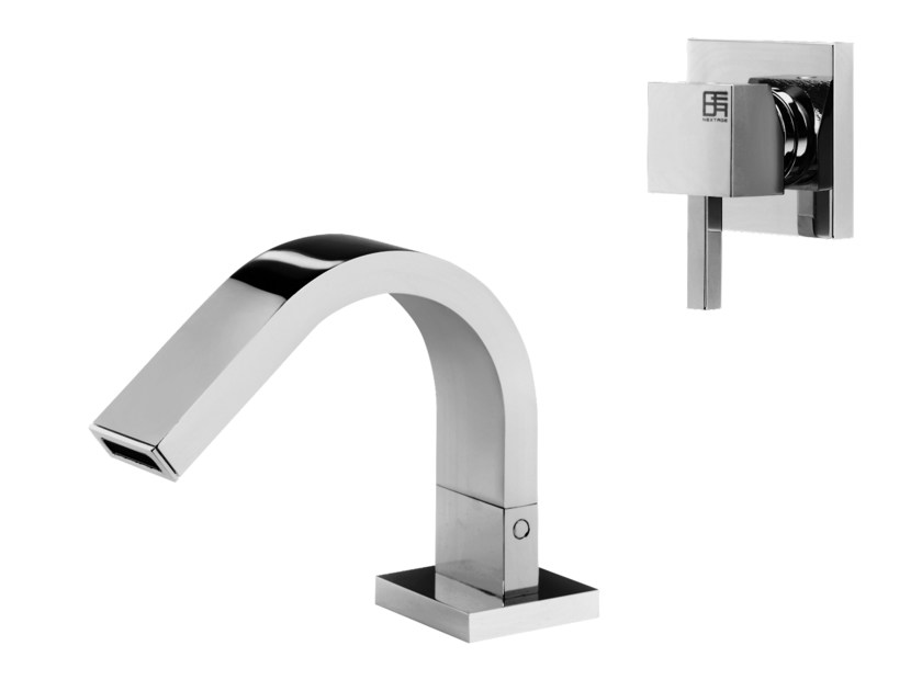 2 hole single handle bidet mixer HITO QUARANTUNO | 2 hole bidet mixer by GEDA