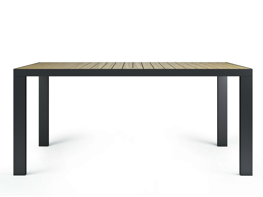 Rectangular ash dining table GARDEN | Dining table - Röshults