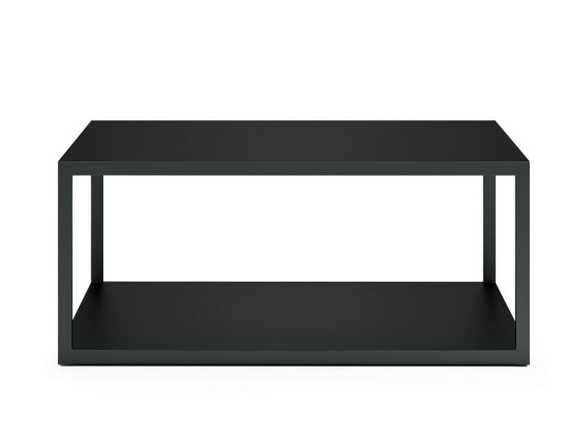 Rectangular stainless steel garden side table GARDEN EASY | Rectangular coffee table by Röshults