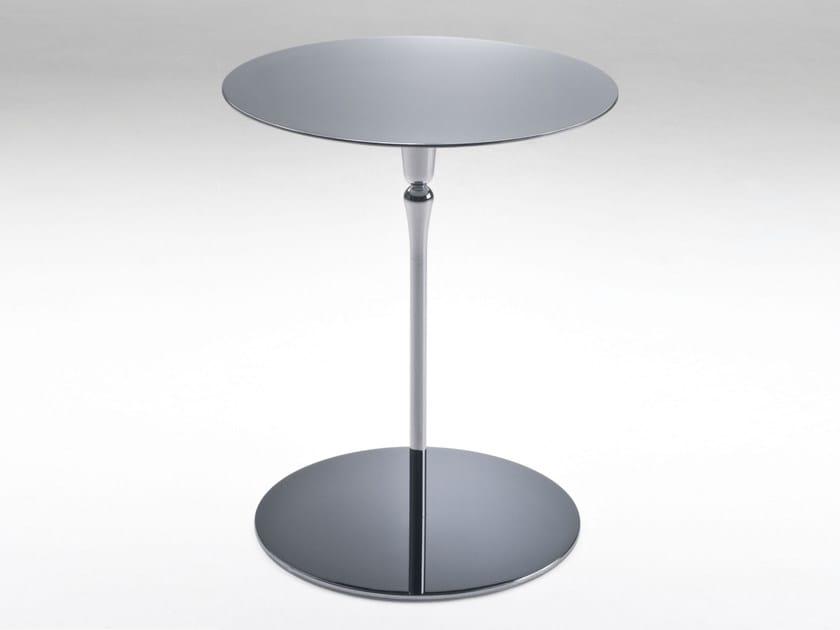 Round side table PLATE | Round coffee table - F.lli Orsenigo