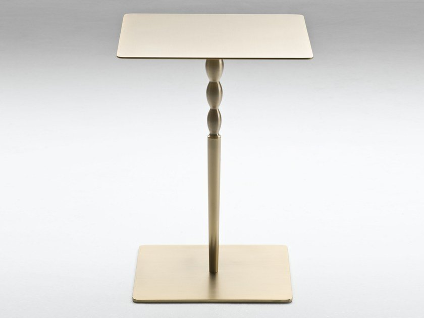 Square side table PLATE | Square coffee table by F.lli Orsenigo