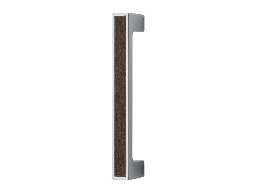 Chromed brass pull handle ZEN WENGÉ | Pull handle - LINEA CALI'