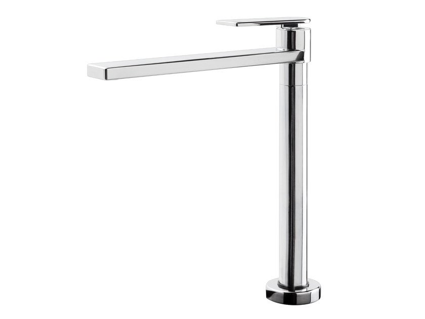 Hidden kitchen mixer tap with swivel spout KENTANA | Hidden kitchen mixer tap - GEDA