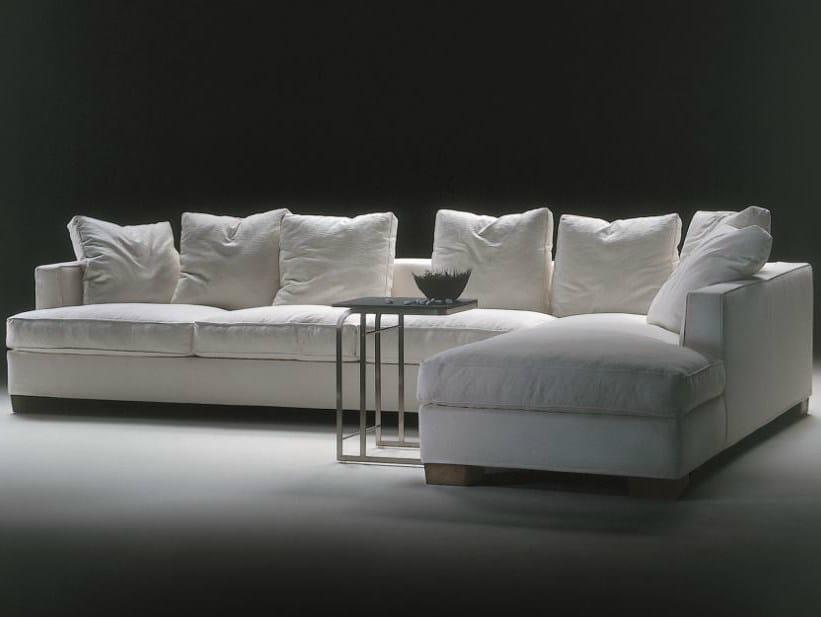 Divano angolare componibile in tessuto eros divano - Divano componibile angolare ...