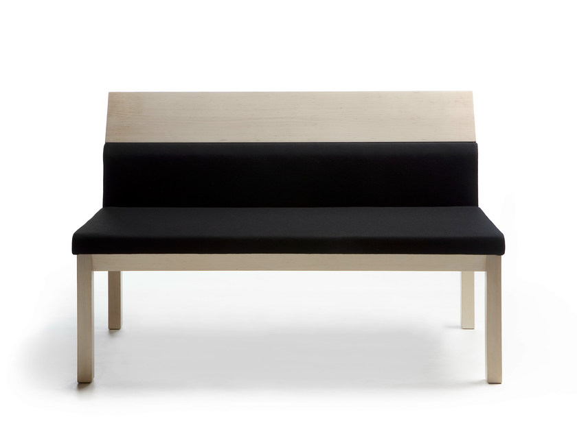 Wooden small sofa SEMINAR JRA3 - Nikari